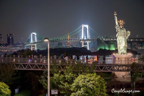 เที่ยวญี่ปุ่น Odaiba Viewpoint