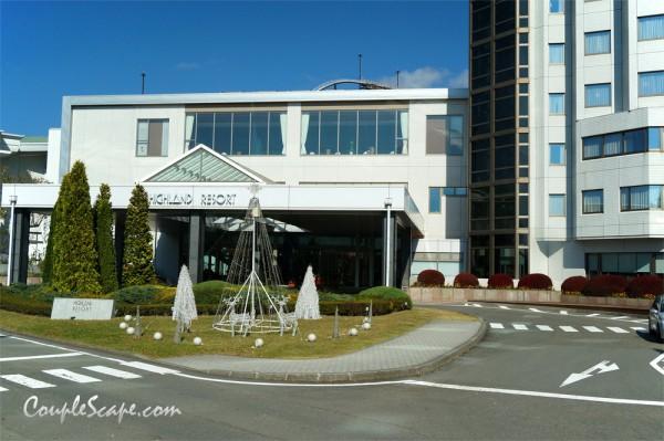 Fuji-Q Highland hotel