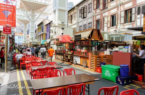 เที่ยวสิงคโปร์ - Food Street ChinaTown