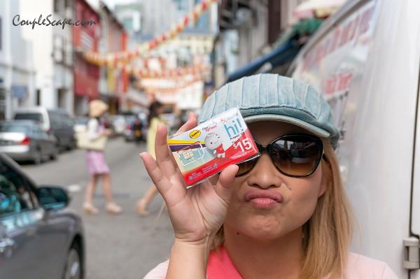 เที่ยวสิงคโปร์ - Simcard