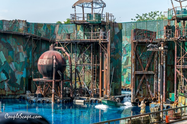 Water world show