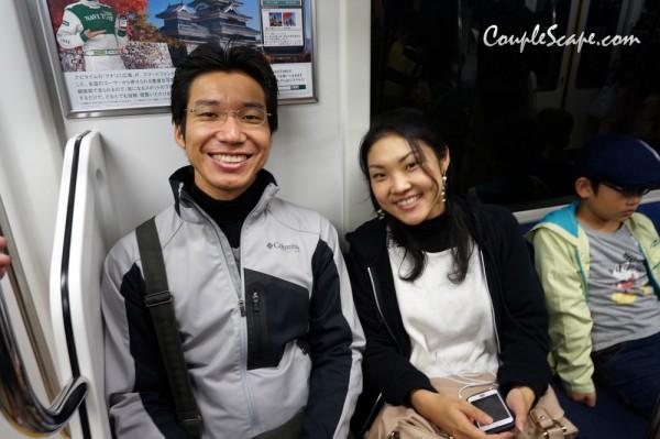 japan trip2013-Hatchobori station,Tokyo