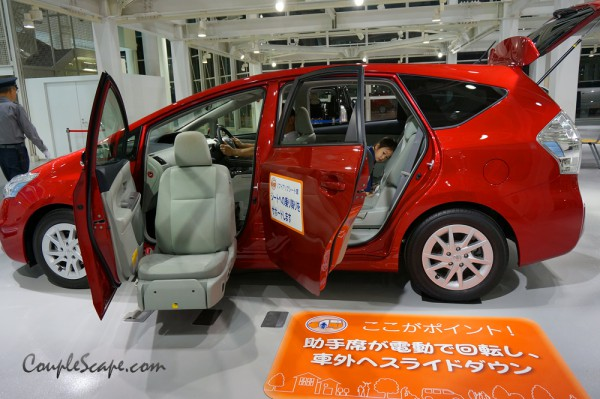 show room Toyota,Odaiba