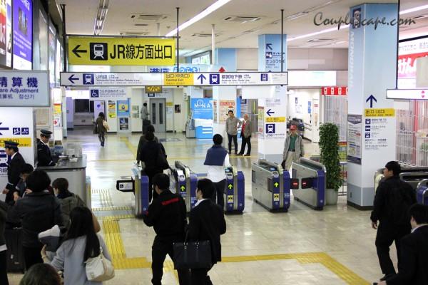 สถานี Hamamatsucho
