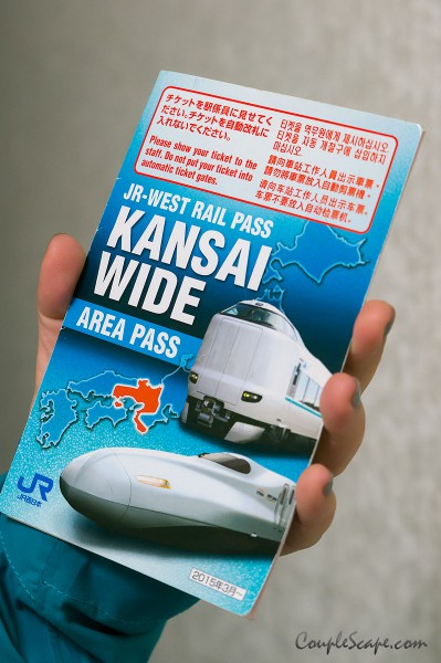 JR-West Kansai Wide Area Pass