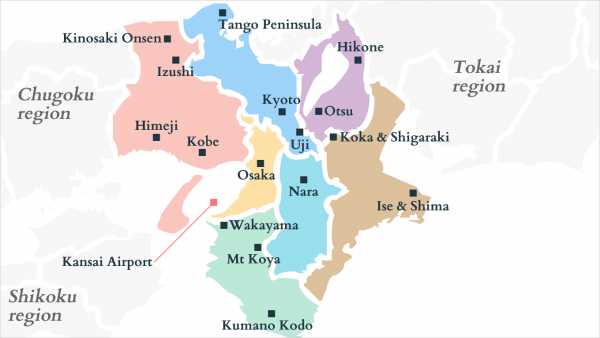 Kansai map