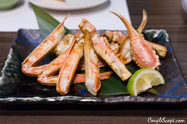 Snow Crab table grilled