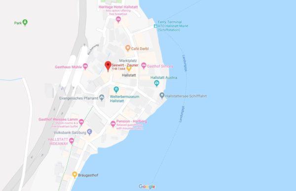 Gasthof Zauner Map