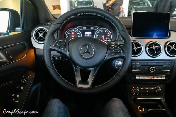 Car Inside Benz B180