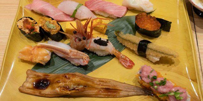 Umegaoka Sushi no midori  ร้านซูชิชิ้นโตเต็มปากเต็มคำ